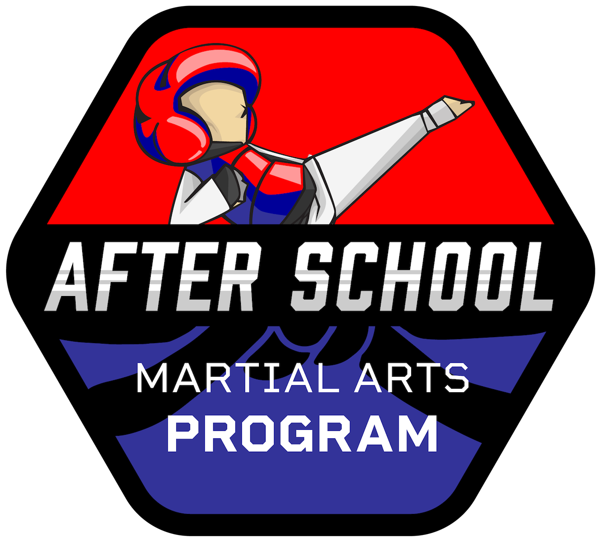 after school martial arts program logo